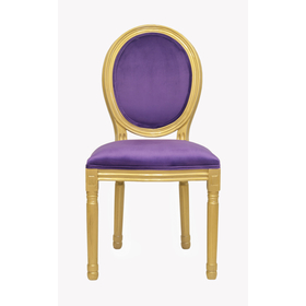 Стул Volker violet gold
