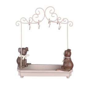Подставка для украшений с собачками