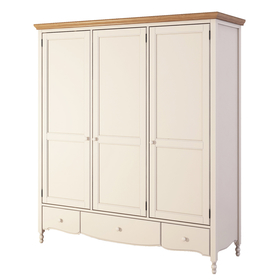 Шкаф бежевый 3 двери Leblanc NH-LB131