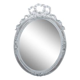 Зеркало Ажур в белой раме