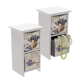 Шкатулка Лаванда на два ящика