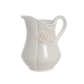 Кувшин керамический белый 19х14х20см T18611-1