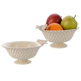 Ампель для фруктов Фарфоровая Крем де ла крем