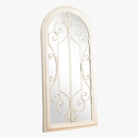 Зеркало-окно Белый ажур PL08-34270