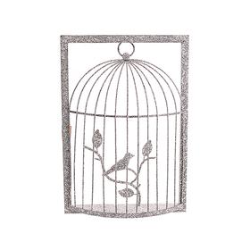 Декор - клетка с птичкой JKEK3122