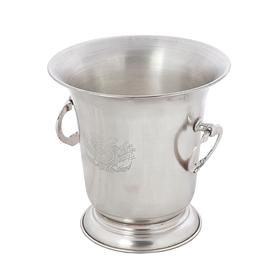 Ведро для шампанского мельхиор 22х22х23 см 78613/341