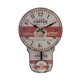 Часы настенные с маятником COFFEE 50971