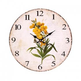 Часы настенные круглые 34х34x3,5 EW99P-0017