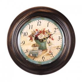 Часы настенные круглые 32х32x5,5 EW99P-0022