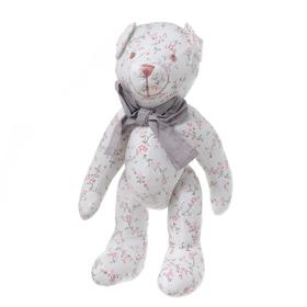Медвежонок цветной с бантиком 30см FT1330027-1