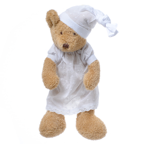 Медвежонок коричневый девочка в ночной сорочке 37 см FT1337040