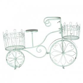 Подставка- кашпо в виде велосипеда 67х20х45 YH52-0017