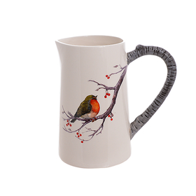 Керамический кувшин Птичка на рябине 7414108