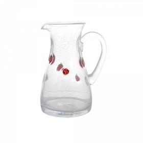 Кувшин для воды стеклянный с ягодами 62QM7009