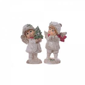 Ангелы новогодние 9х6х15см A302024-2