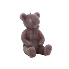 Свеча мишка розовый 10х9х14см F101425AP