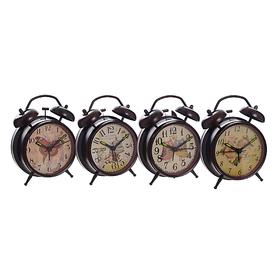 Часы-будильник в ассортименте черный XY800/801(чёр)