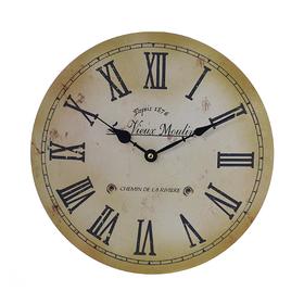 Часы настенные круглые с римскими цифрами YK-1
