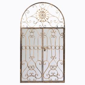 Настенное зеркало «Дивон» (королевская бронза) 5684