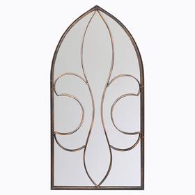 Настенное зеркало «Флореаль» (бронзовый антик) 5690