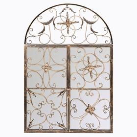 Настенное зеркало «Бизе» (королевская бронза) 8779