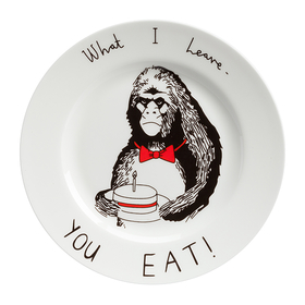 Тарелка What I Leave - You Eat DG-DW-613