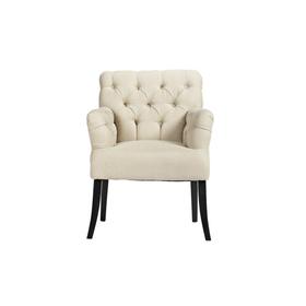 Кресло Castro Armchair Белый Лен DG-F-ACH410
