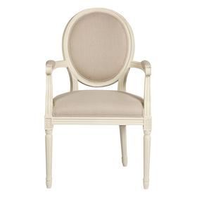 Кресло Vintage French Round Кремовый Лен DG-F-ACH437