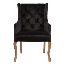 Кресло Ashby Chair Черный Вельвет DG-F-ACH467