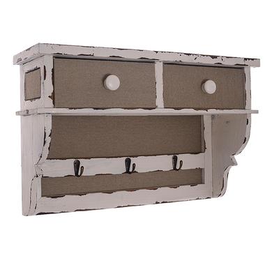 Навесная полочка с ящиками 13126
