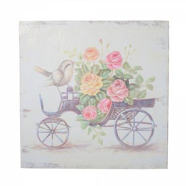 Панно Велосипед с птичкой FRT1932