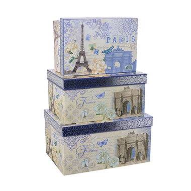 Набор коробок PARIS (из 3 шт.) LPH-05