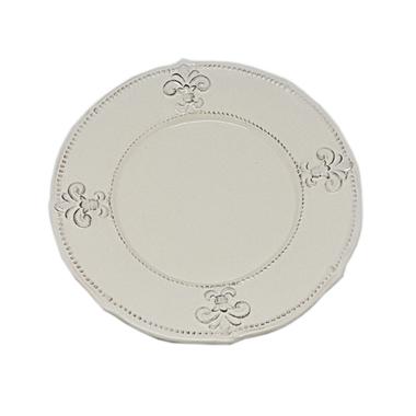 Тарелка керамическая кремовая 26 см T10408-2