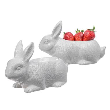 Розетка (для джема, варенья, меда) Кролик на прогулке WA08077