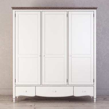 Шкаф 3 двери Leblanc W-L131
