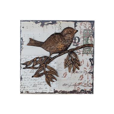 Панно Птичка на ветке BC16202
