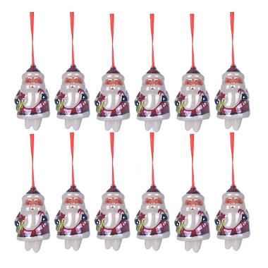 Новогодняя подвеска Дед Мороз (от 12ти штук) NX118041P
