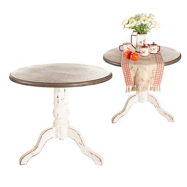 Круглый стол Античный QX141089