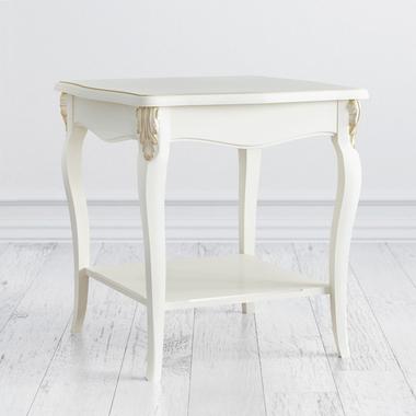 Столик квадратный Romantic Gold