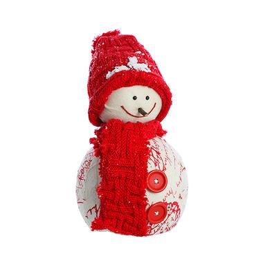 Снеговичок с шарфиком L