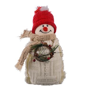 Новогодний снеговик Веночек