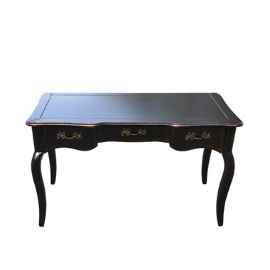 Стол письменный черный DF881D (S01)