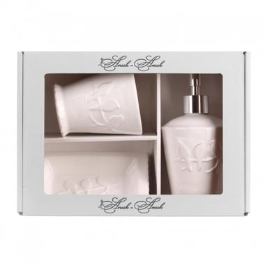 Набор подарочный для ванны Белый