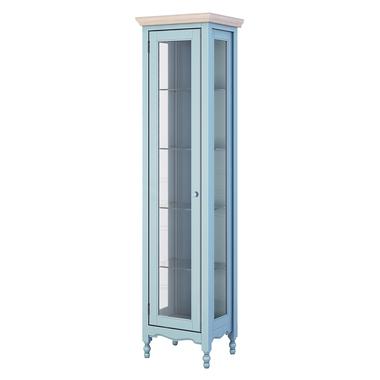 Витрина R голубая Leblanc NH-LG120