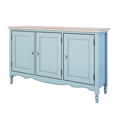 Буфет c 3-я дверцами Leblanc, голубой