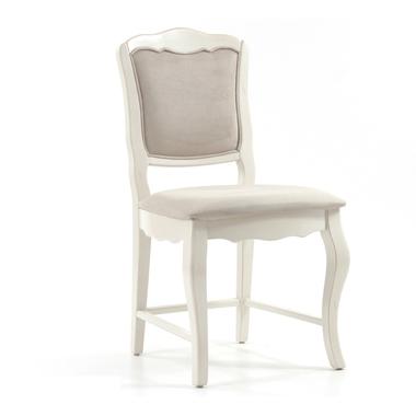 Стул с мягким сиденьем с бежевой обивкой ST9307С