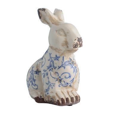 Кролик сидячий Небесный Лазурит