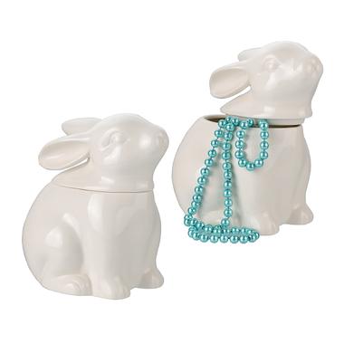 Кролик-конфетница Белое чудо