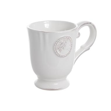 Чашка керамическая белая 12х9х10см T02306