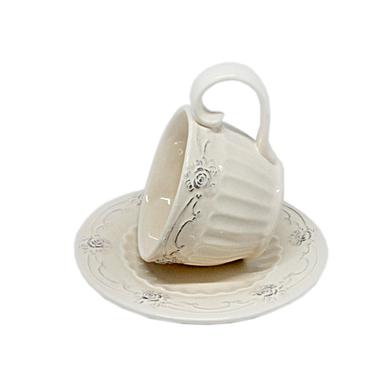 Чайный набор керамический белый T10509-2